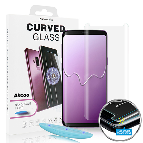 Tempered glass screen protector Apple iPhone XS Max (silicone glue)