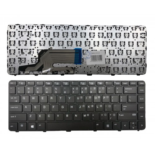 Keyboard HP: Probook 430 G3, 440 G3, 445 G3 (with frame)