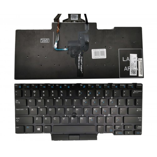 Keyboard DELL Latitude: E5450, E5470, E5480 with backlight and trackpoint