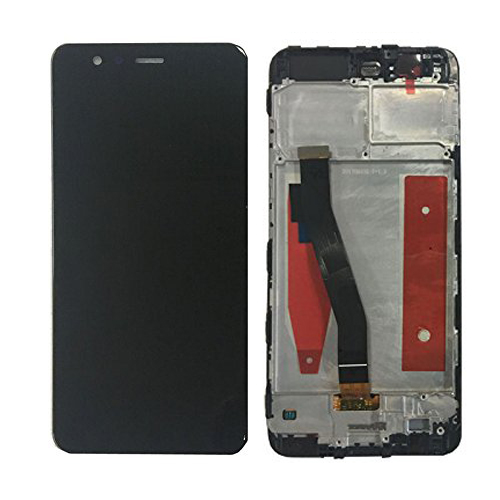 Screen LCD Huawei P10 (black) ( service pack: with frame and battery) ORG